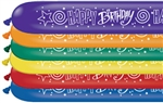 646Q Happy Birthday Print Assortment Qualatex Latex