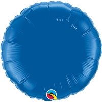 18 inch Round Qualatex Foil DARK BLUE, Price Per EACH, Minimum Order 10