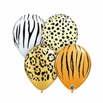 Safari 5 inch Latex Balloon Assortment