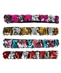 Flip-Sequin Slap Bracelet