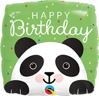 Happy Birthday Panda Balloon
