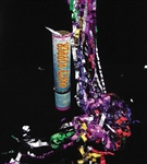 8in Party Popper Hand Held FOIL Confetti Cannon