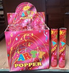10in Confetti Party Popper Hand Held FOIL Confetti Cannon