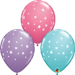 Qualatex Contempo Stars Assorted Balloons