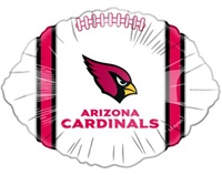 18in Arizona Cardinals Football