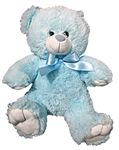 11in Light Blue Teddy Bear