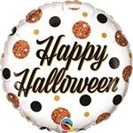 Halloween Sparkly Dots Balloon