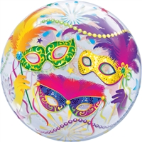 22 inch Qualatex Masquerade BUBBLE