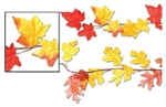 6 foot Autumn Leaf Garland