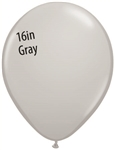GRAY Latex Balloons