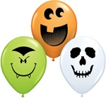 5in Halloween Face Assortment