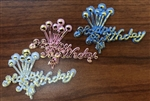 Retro Birthday bling