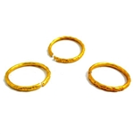 GOLD Wedding Rings, Price Per Bag of 144