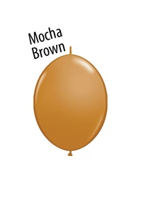 6 inch MOCHA BROWN  Qualatex QUICK LINK
