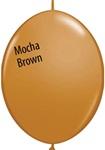 12 inch MOCHA BROWN Qualatex QUICK LINK