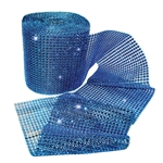 Bling Wrap Blue 4.75in x 10yd