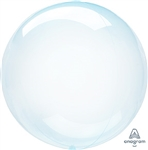 BLUE Crystal CLEARZ Poly Balloon