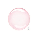 DARK PINK PETITE Crystal Clearz Balloon