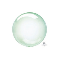GREEN PETITE Crystal Clearz Balloon