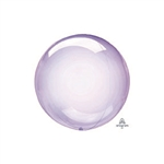 PURPLE PETITE Crystal Clearz Balloon