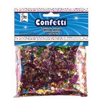 MULTICOLOR Foil Confetti Shred