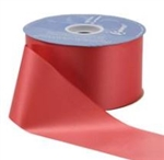 2.75in x 100yd Ribbon Flora-Satin Finish RED