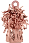 Rose Gold Foil Balloon Bouquet Weights