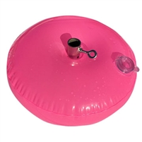 10 Pound Vinyl Water Weight HOT PINK