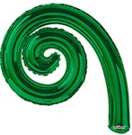 14 inch Kurly Spiral GREEN