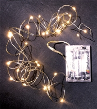 9ft Warm 30 LED Light Garland