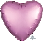Satin Luxe Flamingo Heart