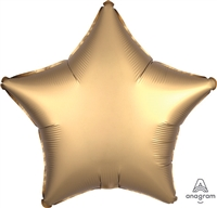 19 inch Satin Luxe GOLD Foil Balloon