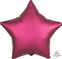 19 inch Satin Luxe POMEGRANATE Foil Balloon
