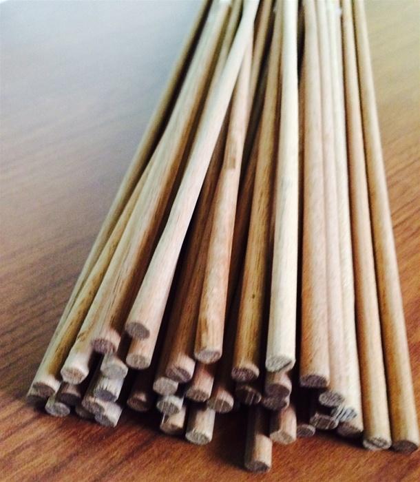 255 Inch X 18 Inch Large Wood Dowel Price Per Bag Of 10