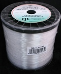 100lb Test Clear Monofilament for Balloon Arch 400yd, Price Per EACH