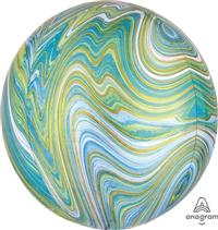 BLUE-GREEN Marblez Orbz