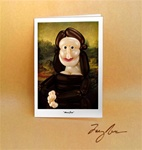 Mona Lisa Note Card