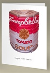 Warhol Soup Can Note Card