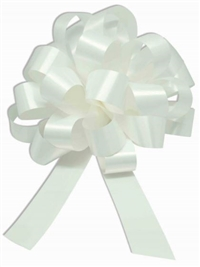 10 1/2 inch WHITE Pull Bow