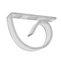 CLEAR Plasti-Clips, Price Per Bag of 100