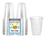 10oz CLEAR Plastic Cup