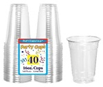 16oz CLEAR Soft Plastic Cup