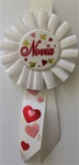6 1/2in Novia Rosette Award Ribbon