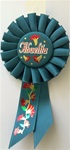 6 1/2in Abuelita Rosette Award Ribbon