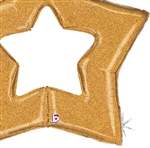 48 inch Open Star GOLD