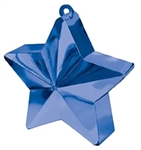 170g Star Balloon Weight BLUE