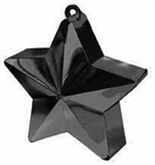 170g Star Balloon Weight BLACK