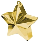 170g Star Balloon Weight GOLD
