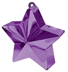 170g Star Balloon Weight PURPLE
