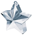 170g Star Balloon Weight SILVER